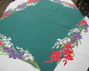 Vintage Tablecloth, Wilendur-like, Wonderful