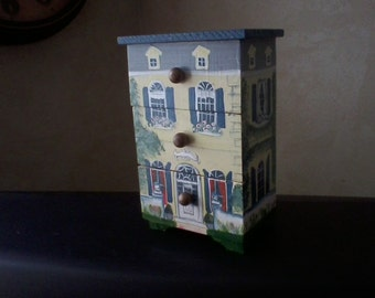 Wooden Townhouse Box