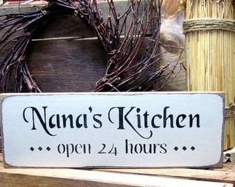 Nana kitchen sign | Etsy