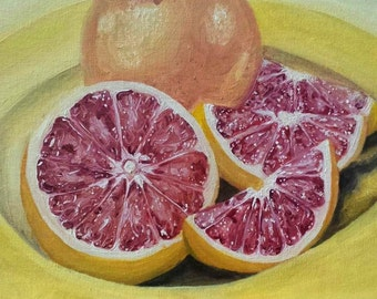Portrait of a Grapefruit