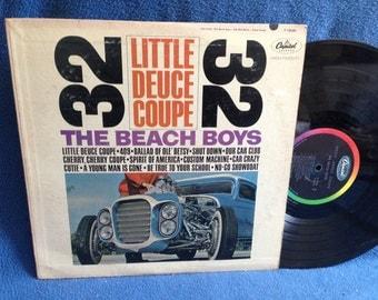 "RARE, Vintage, Beach Boys - ""Little Deuce Coupe"" Vinyl LP Record Album, Original 1963 First Press, Spirit Of America, Be True To Your School"