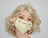Be cool, I'm not sick...., cotton mouth mask, funny mask, fashionable mask, reusable, eco friendly, Flu season, Face surgery