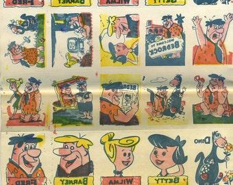 "Vintage Flintstones Tattoos ""Cockamamies"" 1961 skin pictures"