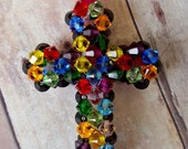 Stained Glass Car Rosary