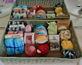 Spa Basket ~ Crochet PATTERN PDF ONLY