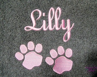 Personalized Dog Blanket Custom Dog Blanket Puppy Blanket Dog Gifts Custom Pet Supplies
