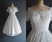 Langley / 50s wedding dress / short wedding dress
