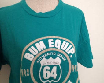 Vintage B.U.M Equipment 90s Tshirt