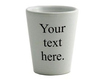 Customized Ceramic Shot Glass