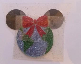 Minne World Cheer Bow Decal with Bow