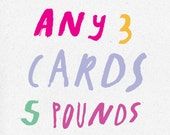Choose any 3 cards
