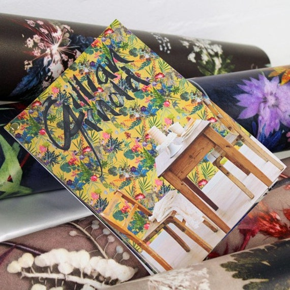 Home Decor, Feature Wall, Botanical Designs, Wallpaper Sample Booklet