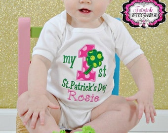 My First St. Patrick's Day, First St. Patrick's Day, Baby St. Patrick, 1st St. Patrick, Baby Shower Gift