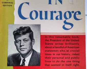 Profiles In Courage, President John F. Kennedy, Vintage Paperback
