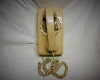 Rotary Bell Wall Phone
