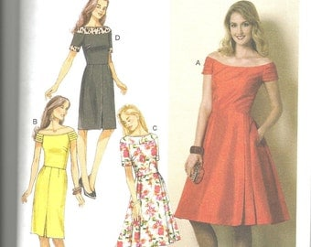 Butterick 6129 new and uncut size 6 - 14 womans dress