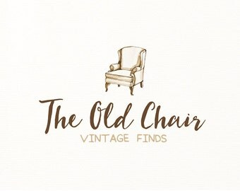 vintage chair logo hand drawn sketch - Logo Design #707