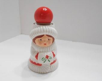 Vintage Avon Christmas Caroler Candle Holder (14) .33 Fl. Oz. Odyssey Cologne Sweet Honesty Cream Sachet