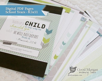 Digital - School Aged Pages - 56 Pages