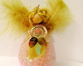 Dream Fairy Series Wood Doll. Ornament. Dream Catcher. Ornament.
