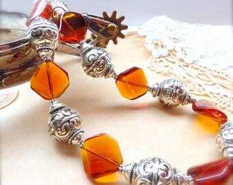 Western Jewelry, Cowgirl Jewelry, Western Necklace, Rustic Jewelry, Boho Jewelry, Southwestern Necklace *PAIGE*