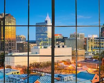 "60""x36"" Raleigh Skyline Backdrop"