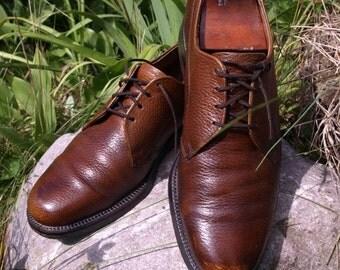 SALE SALE 1960's Vintage  Jarman shoe, PTB pebble grain leather goodyear welt leather sole