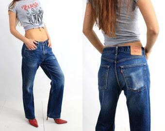 Vintage Levis 581 Blue Jeans W33 L32