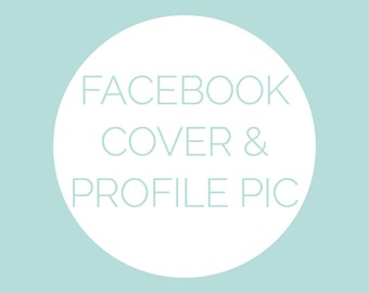 Facebook Banner & Profile Picture Using My Pre-Made Logo by Winter Design