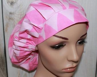 Mr Bear's Harlequin,Bouffant Women's Scrub Hat, Surgical Scrub Hat, OR Nurses Scrub Hat, Scrub Cap