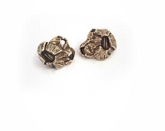 Large Barnacle Cluster - Stud Earrings