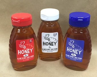 Red, White and Blueberry Honey Sampler