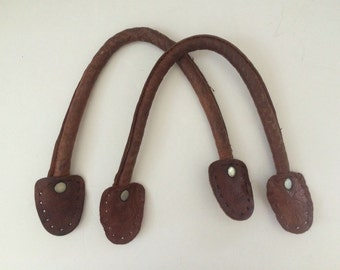 Leather Handles Tote Handbag Supply Accessory