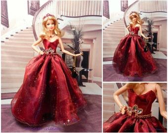 Princess dress for Barbie doll