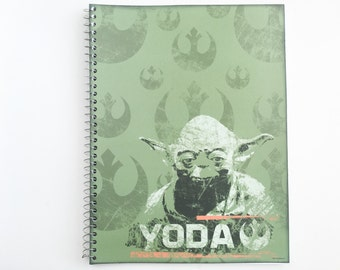 Star Wars notebook with Yoda