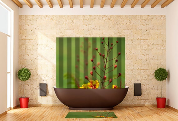 Items Similar To Shower Curtain Mexican Bird Of Paradise Flower On Etsy