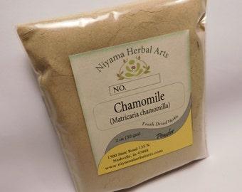 Chamomile Powder, Matricaria chamomilla