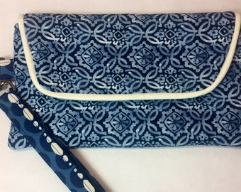 Wristlet / Wallet Wristlet / Clutch Wristlet / Fabric Wristlet / Gifts for Her / FREE SHIPPING