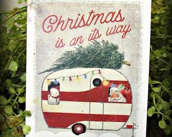 Christmas Camper Card
