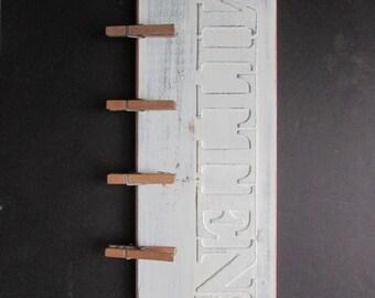 Mittens Sign Decor Chalkpaint Decor Chippy Cottage Chic Sign Unique Storage