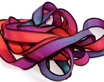 Sassy Silks Jewelry Ribbons  Cosmic Glow