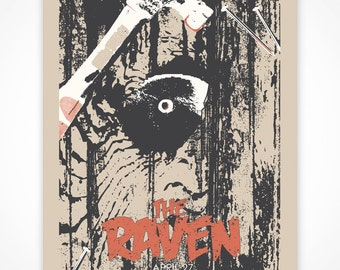 The Raven Unofficial Poster (silk screened)