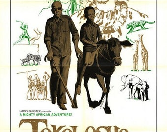 Vintage Original Movie Poster 1- sheet Tokoloshe