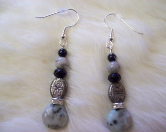Sesame Jasper Earrings