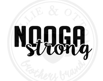NoogaStrong Decal