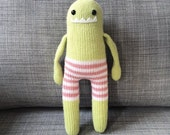 Handmade Knit Pants Monster
