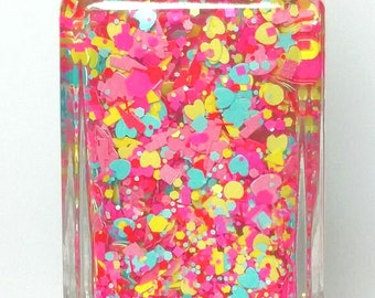 Sugar Shock - Valentine collection -handmade glitter nail polish