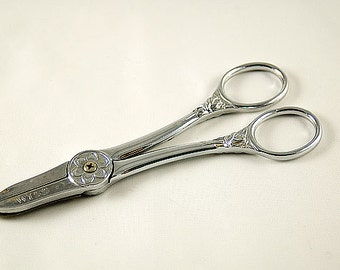 Antique Wiss Plated Flower Shears