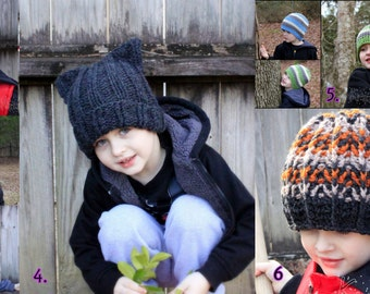 Crochet hat.Ready to ship hats.Size:4-10y.old