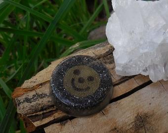 B4 Energy Art Smiley Face Sample Orgone Chi Ki Prana Life Force Energy!